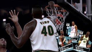 NBA 2K17 MyTEAM Online - Diamond Kemp/Payton Duo! Sonics Squad Catching BODIES!!