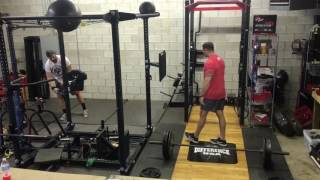 Clean Pull Super Set w/ The Difference (Post Activation Potentiation)