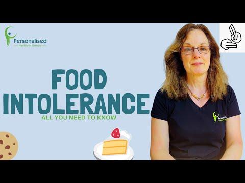 Food Intolerance Symptoms (BSL)