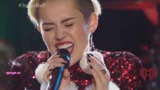 Gambar cover Miley Cyrus - Wrecking Ball (Live At Z100's Jingle Ball 2013)