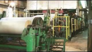 Производство бумаги. Как делается бумага.