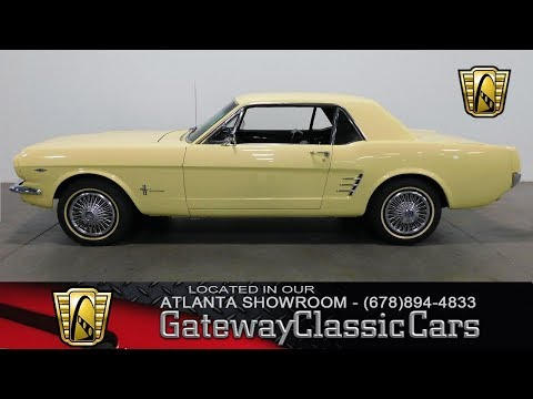 Video of '66 Mustang located in Alpharetta Georgia - MBRW