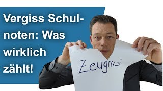 Vergiss Schulnoten – was wirklich zählt im Leben // Frag Coach Wehrle
