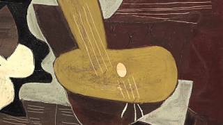 Mandoline Et Portée de Musique (Picasso)