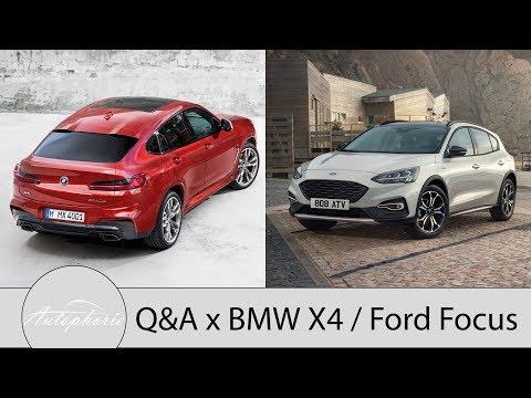 Wir wollen Eure Fragen zum BMW X4 und Ford Focus [4K] - Autophorie