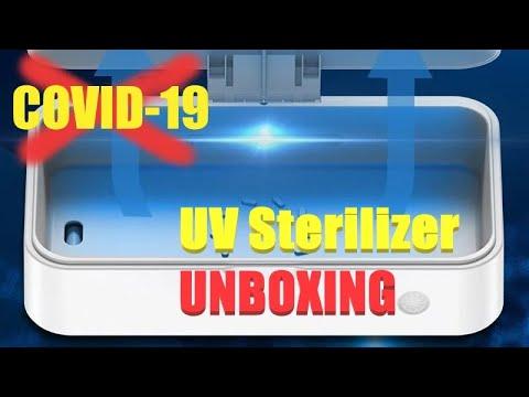 Αποστείρωση...... UV Sterilizer - UNBOXING (by Banggood)
