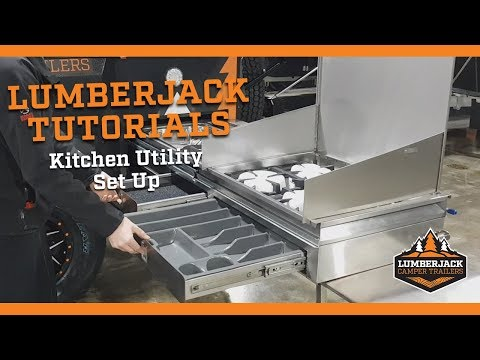 How To Set Up The Slide Out Kitchen - Lumberjack