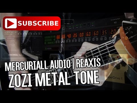 Mercuriall Audio | ReAxis 1.2 - Zozi Metal Tone (MESA/Boogie® Triaxis Plugin)