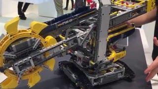 LEGO Technic Bucket Wheel Excavator set 42055
