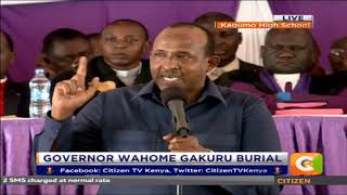 Duale: You (Pres. Kenyatta) have more following than any leader in history of Kenya