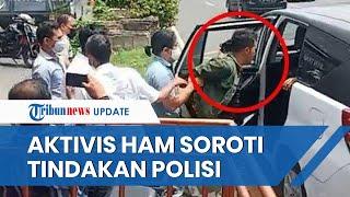 Aktivis HAM Soroti Tindakan Polisi Tangkap Mahasiswa UNS yang Bentangkan Poster saat Kunker Jokowi