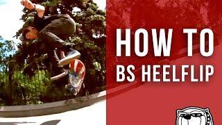 Смотреть онлайн Как сделать трюк Backside Heelflip