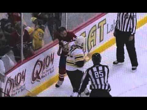 Alex Henry vs. Shawn Thornton