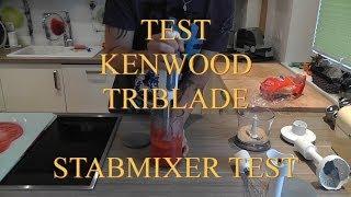 Test Stabmixer Kenwood triblade hb 724 deutsch