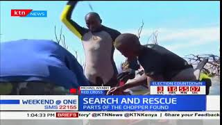 Michael Aiyabei-Red Cross briefs on recovery process ongoing at Lake Nakuru after chopper crash