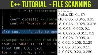 C++ Quick Tutorial: How To Store Data from a File into Arrays