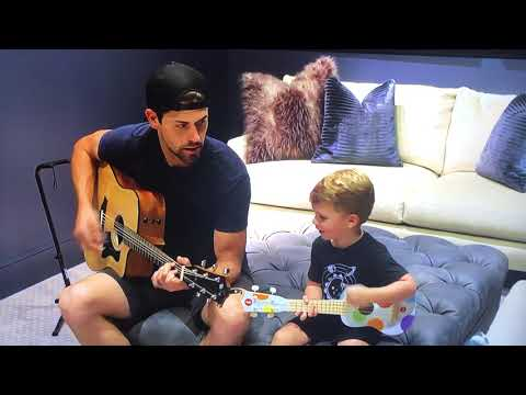 Justin Tucker Jams With His Son