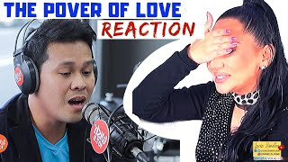 Vocal Coach REACTS To MARCELITO POMOY Power Of Love Wish 107.5  | Lucia Sinatra