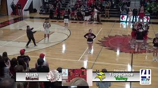 North Miami Boys Basketball vs Tippecanoe Valley - 2-9-19
