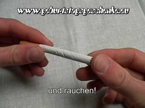 Das Gedicht zum Burschen Rauchen aufzugeben,
