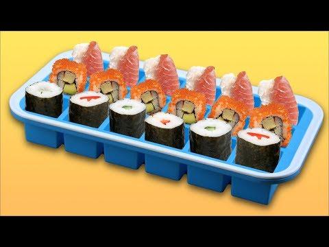 Incluso un bebé podría hacer este sushi