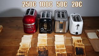 Toaster Test - 4 Modelle von KitchenAid, Krups, Severin & Dualit