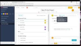asana+instagantt+construction project planning and Tracking