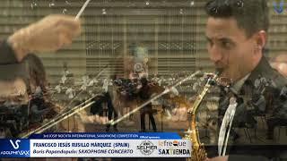 Francisco Jesús Rusillo Márquez plays Saxophone Concerto by Boris Papandopulo