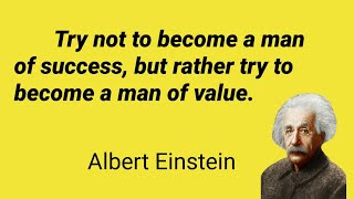 Quotes Of Einstein || Albert Einsteins Quotes On Nature,  Knowledge, Peace & Success