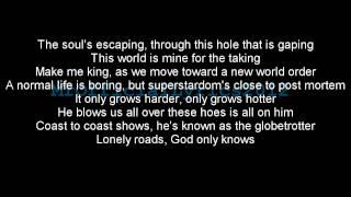 Eminem - Lose Yourself (Lyrics) *HQ AUDIO*