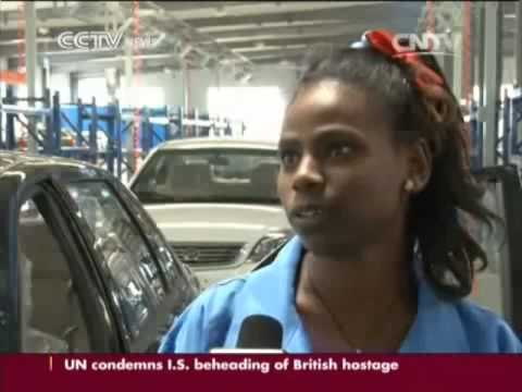 CCTV News   Chinese investors creating job opportunities in Ethiopia   October 2014