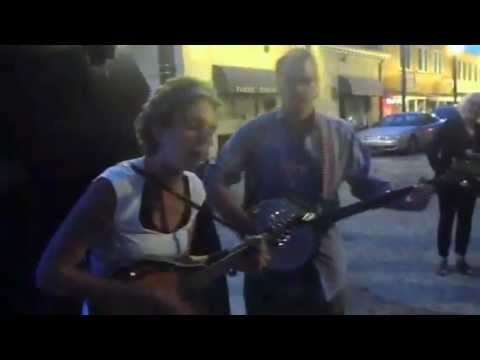 "Monica Bethelwood ""Long time"" Asheville street music"