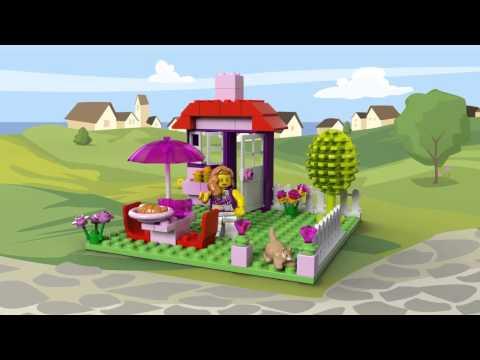 Vidéo LEGO Juniors 10660 : La valise de construction fille