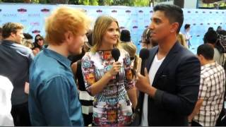 Ed Sheeran, Ed Sheeran at the Teen Choice Awards 2013 Red Carpet