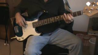 Joan Jett - have you ever seen the rain - bass cover