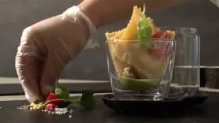 Ραβιόλι με Μαστέλο® τοματάκια,πεπεροντσίνι και βασιλικό