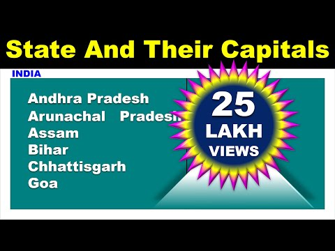 State and their Capital || INDIA