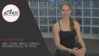 Pilates Renee, Abs, Core, Arms, Cardio, Powerhouse, 30 Mins