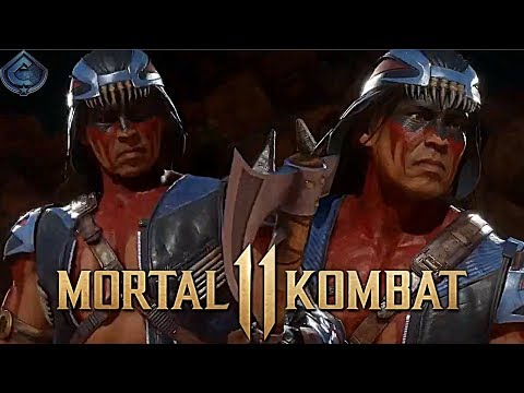 Mortal Kombat 11 - OFFICIAL IN-GAME LOOK AT NIGHTWOLF REVEALED!