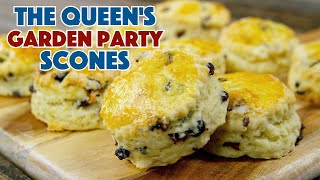 👑  Queen Elizabeths Garden Party Scones Recipe