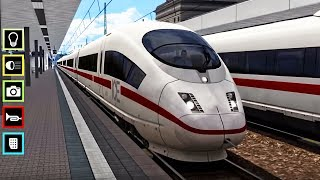 Euro Train Simulator | Cars And Trains Cartoon | Train Videos For Kids | Local Train Game For Baby