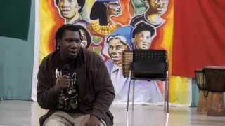 KRS ONE speaks at Life Movement in Toronto. June 10 2009