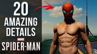 20 AMAZING Details in Spider-Man PS4
