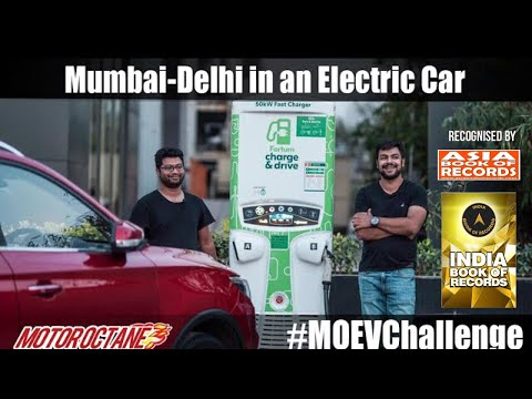 Motoroctane Youtube Video - Mumbai-Delhi in an Electric Car - MG ZS EV #MOEVChallenge