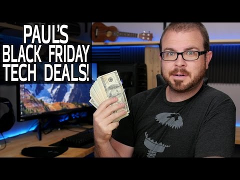 My Favorite Black Friday Tech Deals - LIVE!