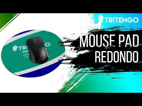 Mouse Pad Redondo 20cm em Neoprene Personalizado para Brinde Corporativo
