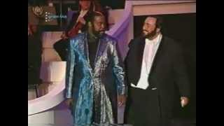 Barry White & Luciano Pavarotti (your my first)
