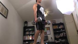 Home Legs Workout Routine - Dumbbell Exercises by Buff Dudes