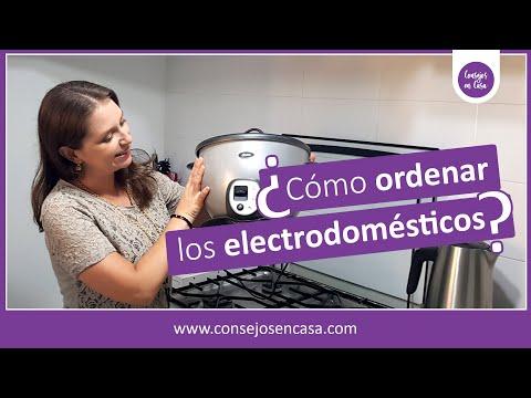 Cómo ordenar los electrodomésticos en la cocina - Consejos en Casa 🏠 - Estefany Morales 😉