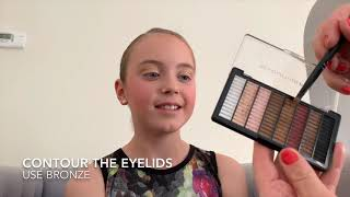Stage Makeup Tutorial for competitive dance